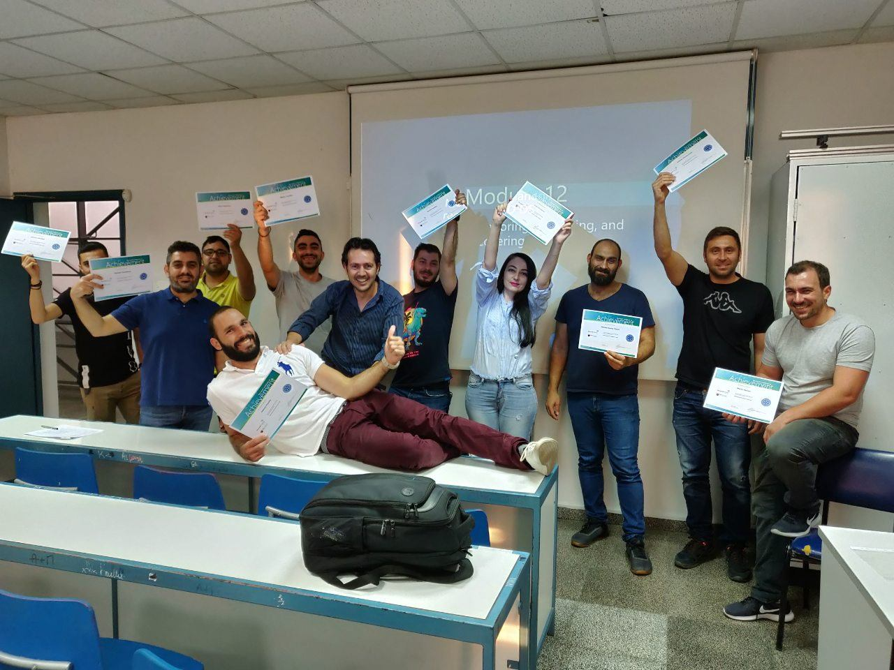 School of Certified Professionals for IT Trainings