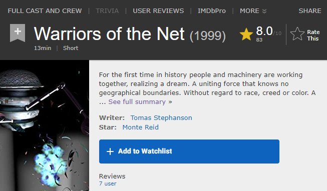 Warriors of the Net – The Movie