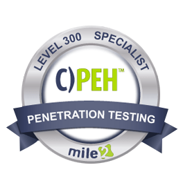 Mile2 Certified Professional Ethical Hacker (C)PEH)