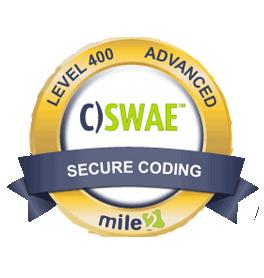 Mile2 Certified Secure Web Application Engineer (C)SWAE)